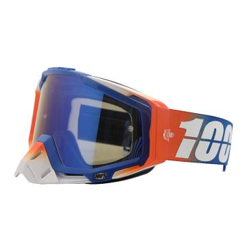 Ride 100% 2018 Racecraft Goggles - Roxburry/Mirror Blue Lens