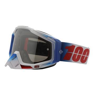 Ride 100% 2018 Racecraft Goggles - Fourth/Mirror Silver Lens