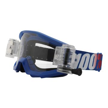 Ride 100% Strata Goggles with Roll-Off System
