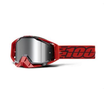 Ride 100% 19 MX Racecraft + Goggle - Toro - Injected Silver Flash L