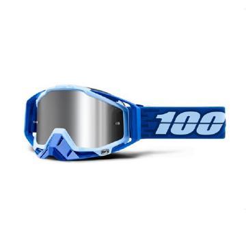 Ride 100% 19 MX Racecraft + Goggle - Rodion-Inj Silver Flash MirLns