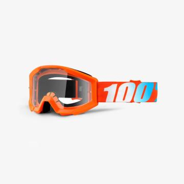Ride 100% Strata Jr Youth Goggle - Orange/Clear Lens
