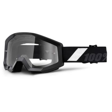 Ride 100% Strata Youth Moto Goggle - Goliath/Clear Lens