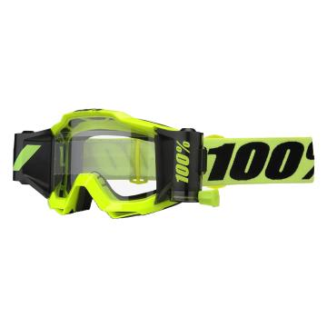 Ride 100% Accuri Forecast Roll Off Goggles - Fluro Yellow