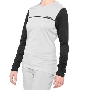 Ride 100% Ridecamp Women's Long Sleeve Jersey - Grey/Black