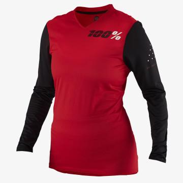Ride 100% 2019 Women's Ridecamp Longsleeve Jersey - Red