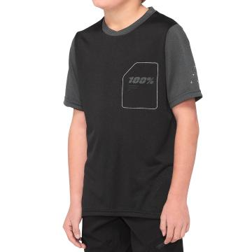 Ride 100% Ridecamp Youth Jersey - Black/Charcoal