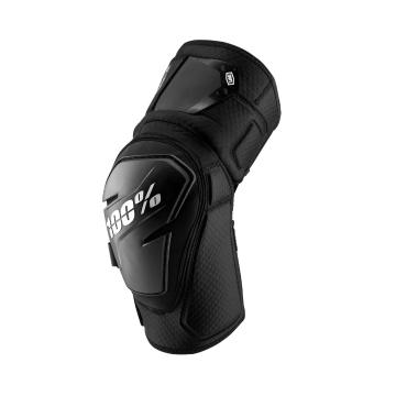 Ride 100% Fortis Knee Guards -  Black