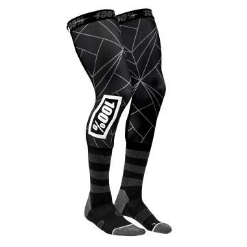 Ride 100% Rev Knee Brace Perf Moto Socks