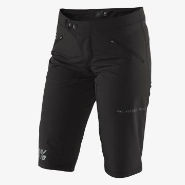 Ride 100% Women's Ridecamp Shorts -  Black
