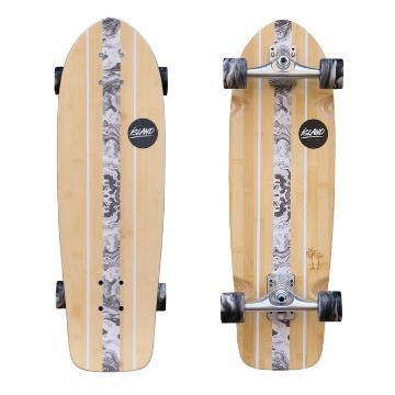 Island Island 2020 Cruiser Skateboard - Bamboo