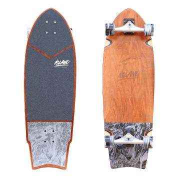 Island 2020 Cruiser Skateboard - Black