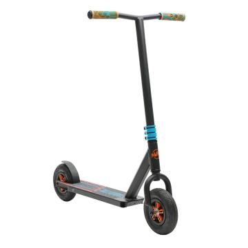 Invert Dirt Scooter - Black/Teal - Black/Teal