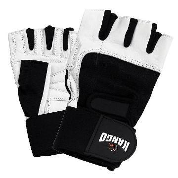 Kango Weight Lifting Gloves B&W
