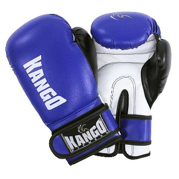 Kango Childrens Boxing Gloves Blue 6oz
