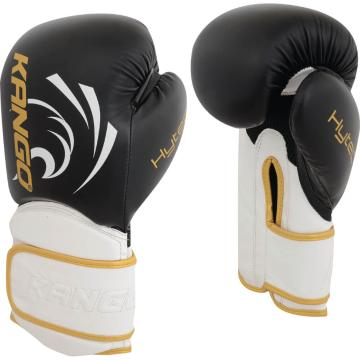 Kango PU Boxing Gloves 12oz - Black/Red