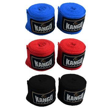 Kango Hand Wraps Cotton (Black 3.5m)