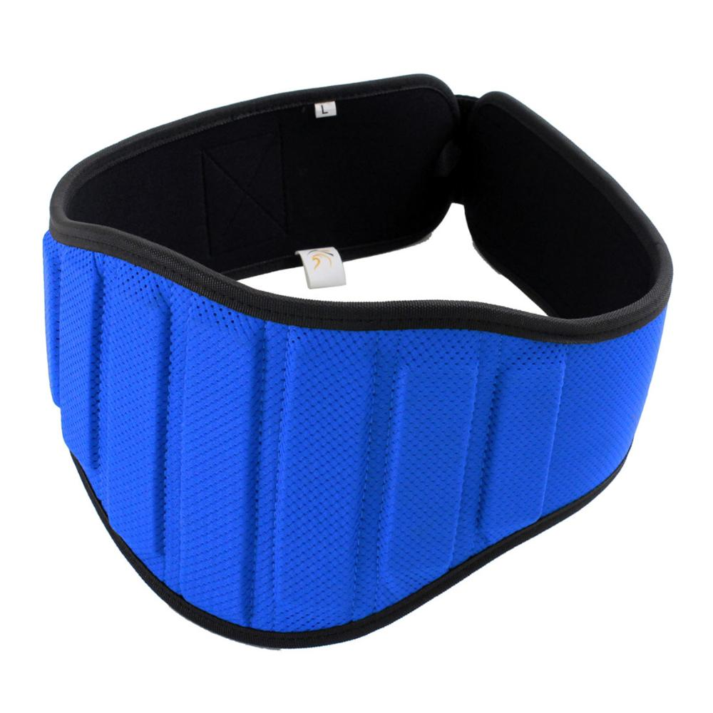 Weight Lifting Belt Blue (Small) - 90cm