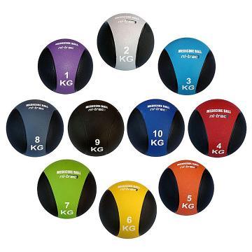 Ni-Trac7 Rubber Medicine Ball