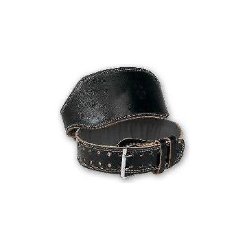 Olympus Leather Weight Belt (Med) (New CODE) - 114cm - Black