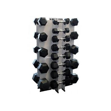 Olympus Dumbbell Rack 13 pr White (New CODE)