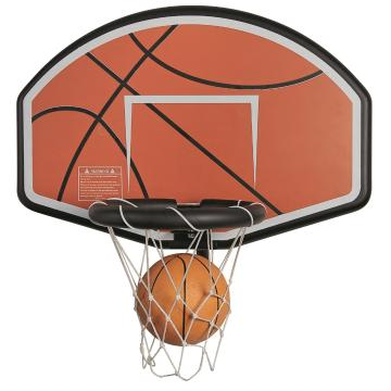 The Big Bounce Basketball Hoop Set for 12-16ft