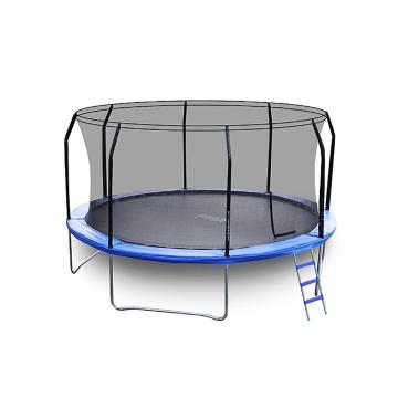 The Big Bounce Big Bounce 14ft Trampoline - Black/Blue