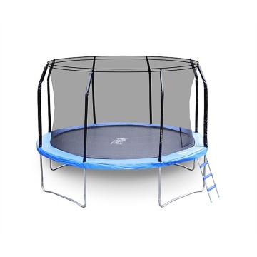 The Big Bounce 12ft Trampoline - Black/Blue
