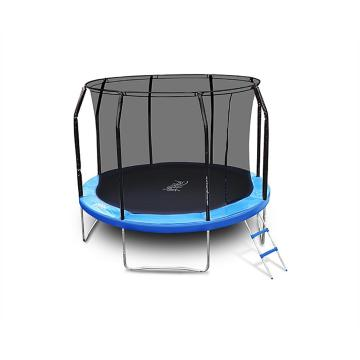 The Big Bounce 10ft Trampoline - Black/Blue