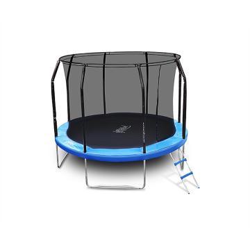 The Big Bounce 10ft Trampoline - Black/Blue