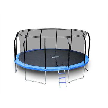The Big Bounce 16ft Trampoline - Black/Blue