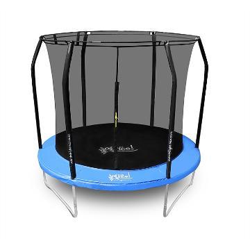 The Big Bounce 8ft Trampoline - Black/Blue