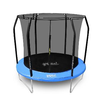 The Big Bounce 8ft Trampoline - Black/Blue