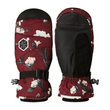 Rojo Women's Task Mitts - Winter Floral