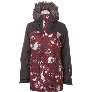 Rojo Women's Task Jacket - Winter Floral
