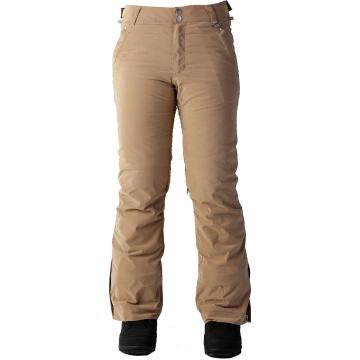Rojo Women's Stretch Jeans Snow Pants - Tortoise Shell