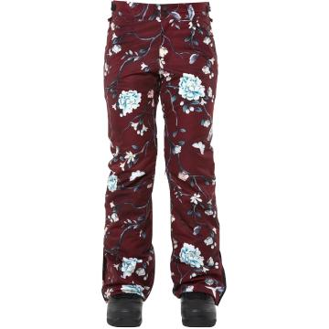 Rojo Women's Stretch Jean Pants - Winter Floral