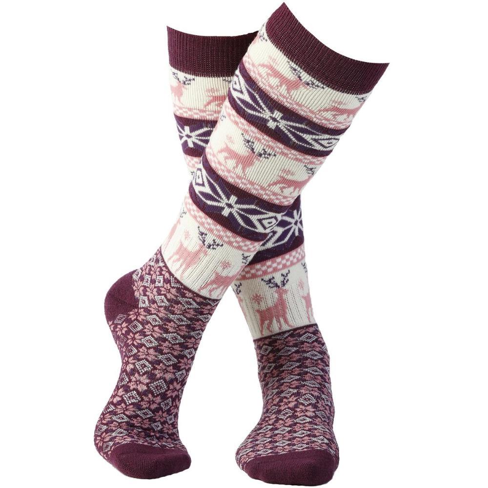 Women's Nordic Snowflake Socks