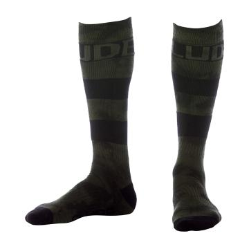 Rojo Men's Tie Dye Sock - Kombu Green