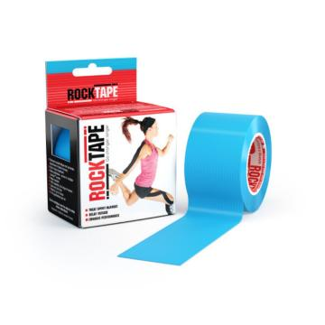 Rocktape Plain Tape Roll 5cm x 5m - Blue