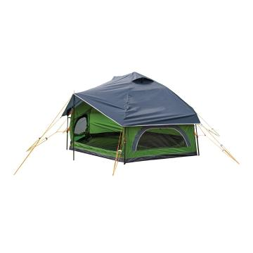 Kiwi Camping Fantail Ezi-up Tent - Green and Grey