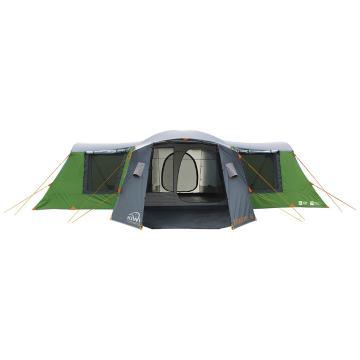 Kiwi Camping Takahe 10 Family Dome + Easy fold Stretcher