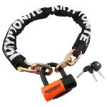 Kryptonite New York Chain 1210 with EV Series 4 Disc Lock 12mm x 100cm