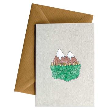 Little Difference Mountain Curly Sea Gift Card