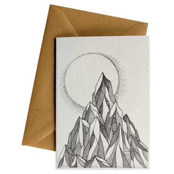 Little Difference Mountain Moon Gift Card