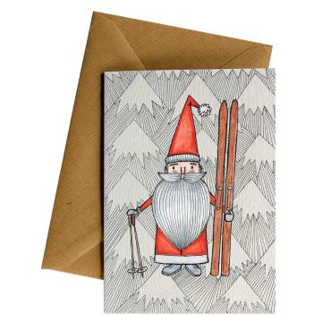 Little Difference Santa Skis Gift Card