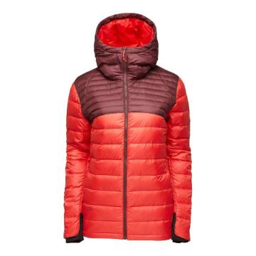 Flylow Womne's Betty Down Jacket - Tawny/Hibiscus