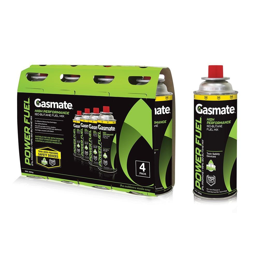 Butane Gas Canister 4 Pack - 220gm