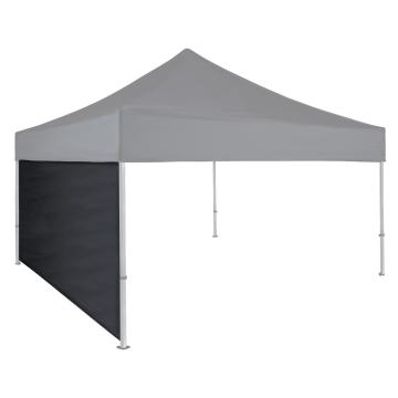 Side Wall for 3 x 3 Commercial Gazebo - Black