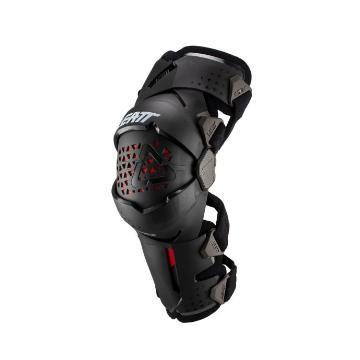 Leatt Knee Brace Z-Frame Pair - Black/Red